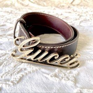 Gucci Belt Like New